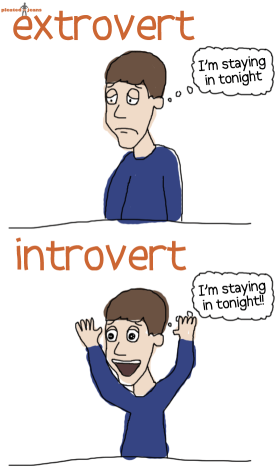 being an extrovert