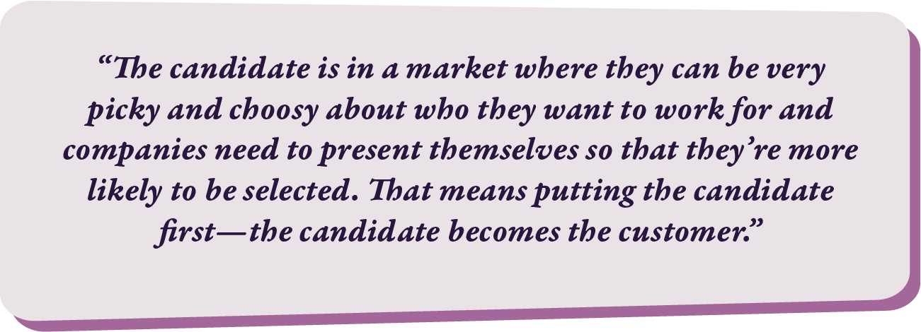 Candidate Experience Quote