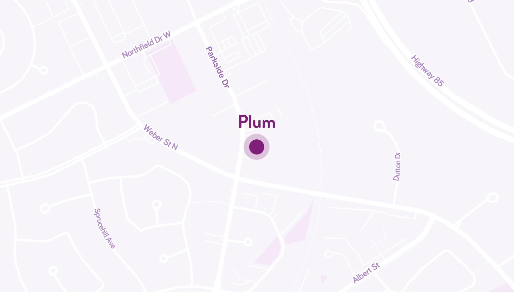 Plum headquarters map