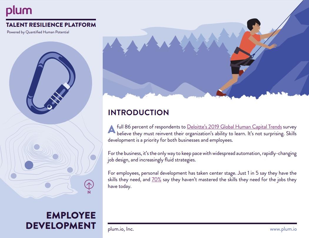 FY21 - Employee Development Brochure Screenshot