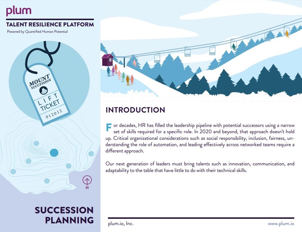 FY21 - Succession Planning Brochure Screenshot