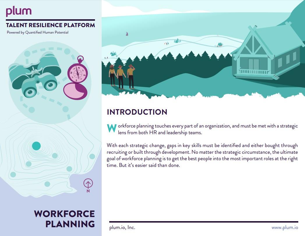 FY21 - Workforce Planning Brochure Screenshot