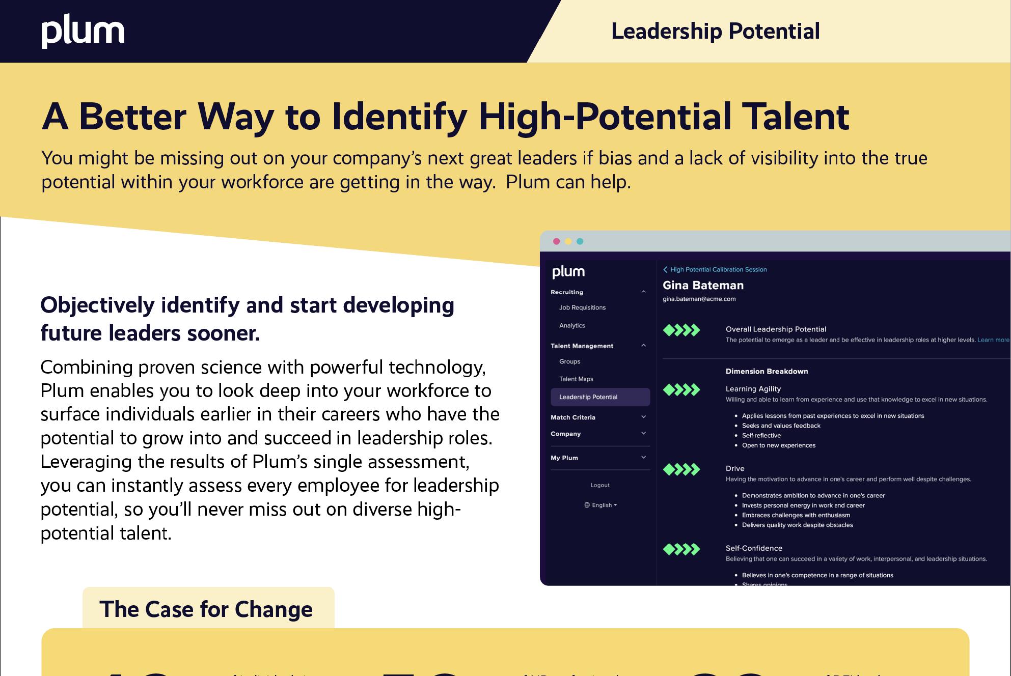 Leadership Potential Brochure