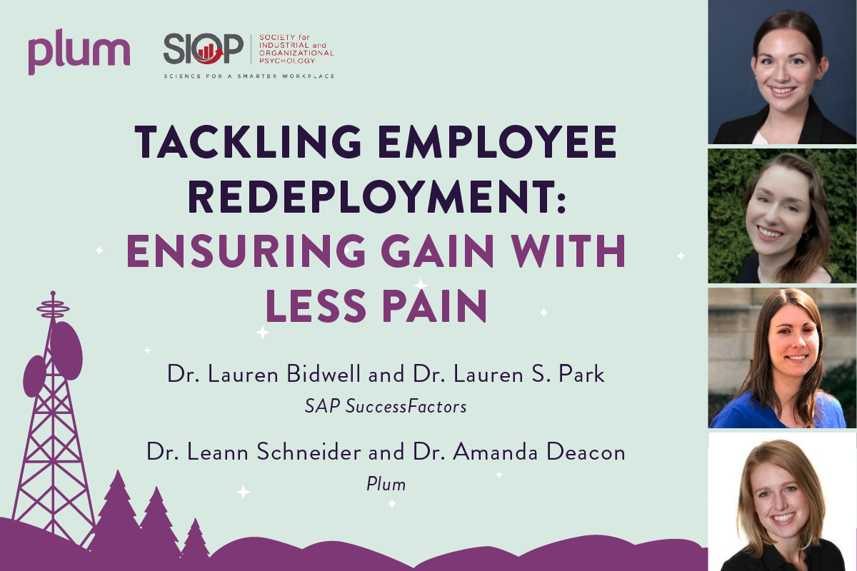 Tackling Employee Redeployment: Ensuring Gain with Less Pain