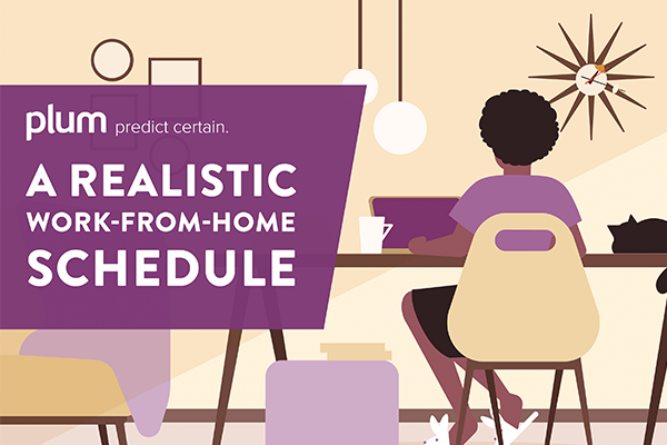 A Realistic Work From Home Schedule